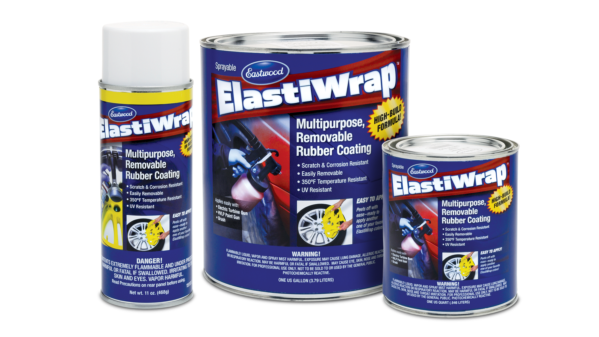 Eastwood Brand ElastiWrap Rubberized Coating