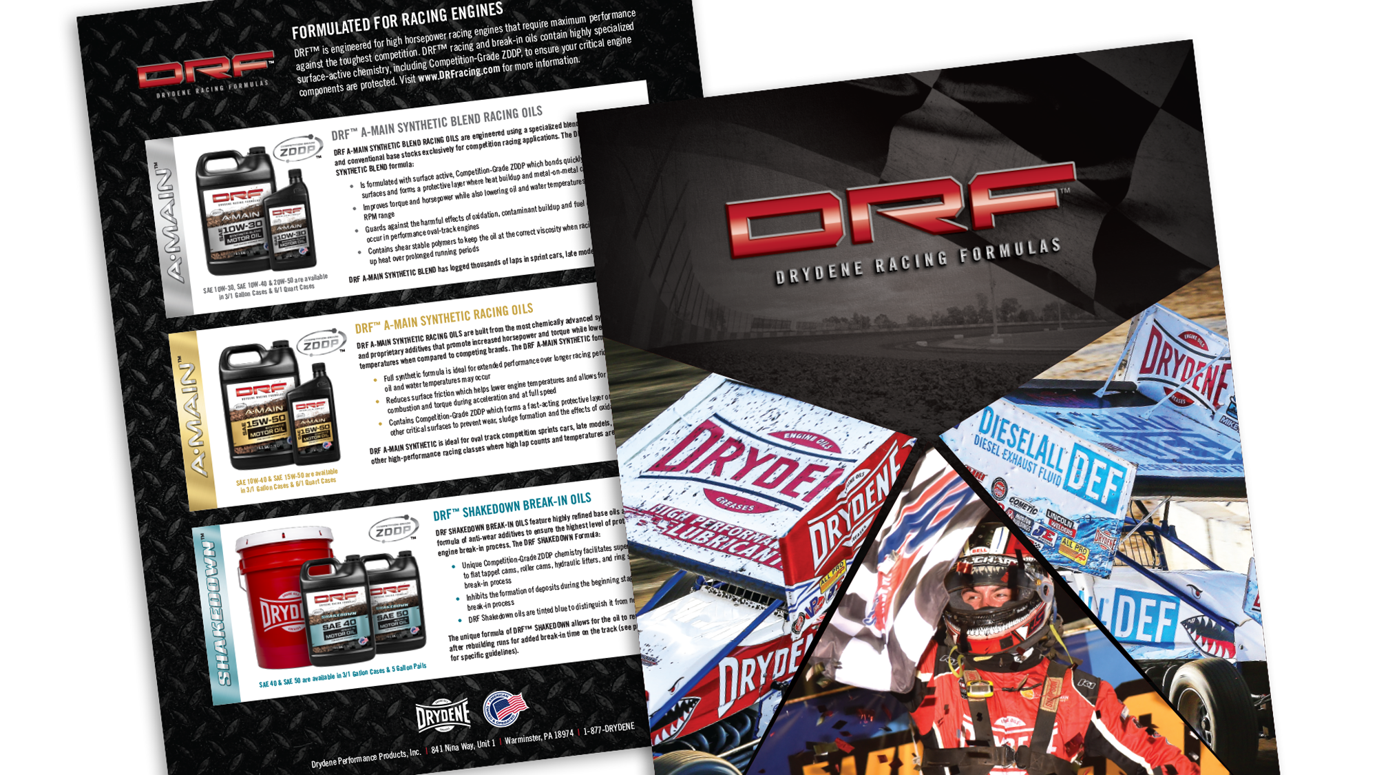 DRF PRODUCT SELL SHEET